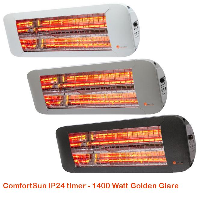 ComfortSun IP24 timer- Golden Glare 1400 Watt-cat©www.comfortsun-shop.be